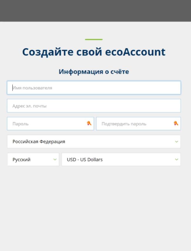 Открыть счет ecoPayz с Weenax