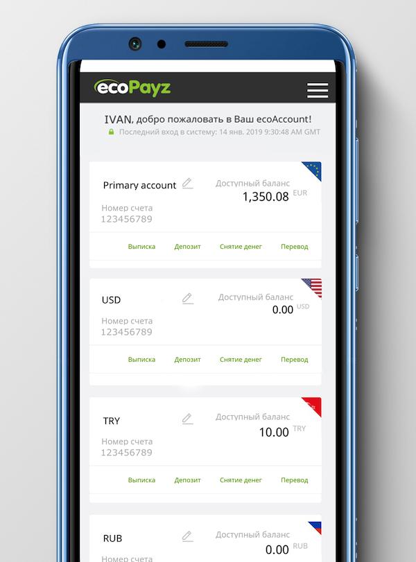 Что изменилось в мобильном приложении ecoPayz?