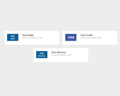 Пополнение NETELLER с карты VISA