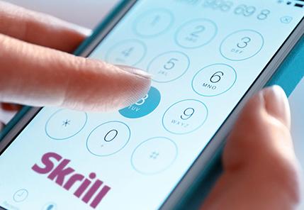 Skrill требует номер телефона для регистрации и транзакций