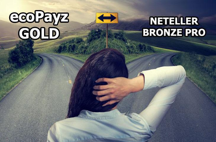 ecopayz gold или neteller bronze pro - что лучше