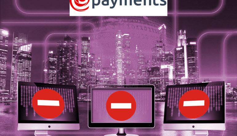 У ePayments проблемы: действие платежной системы приостановлено