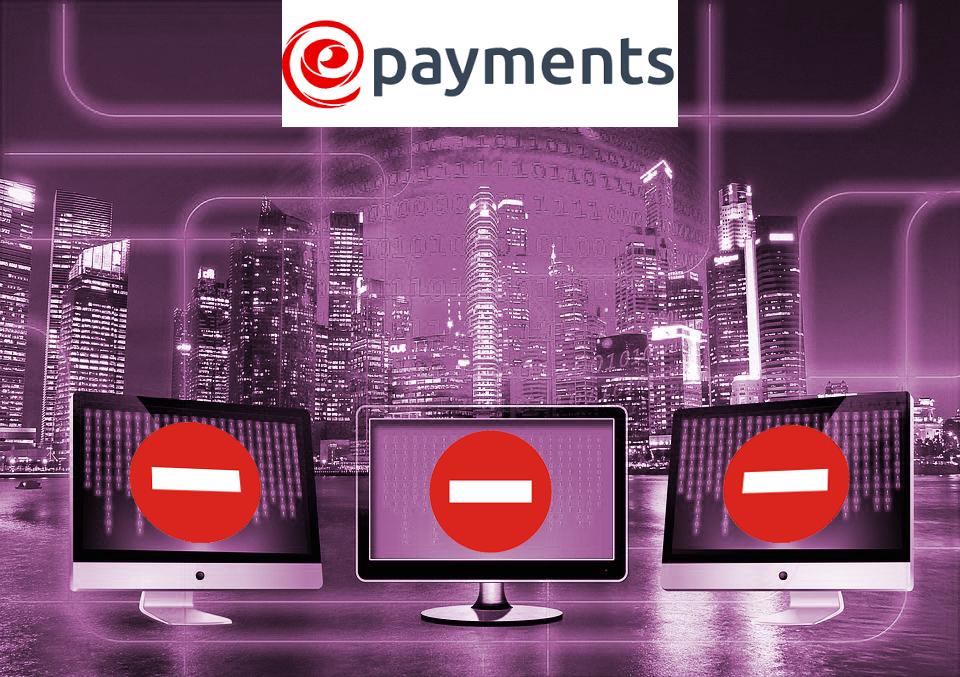 Блокировка счетов в ePayments