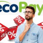 ecoPayz: комиссии для некоторых стран изменятся на стандартные