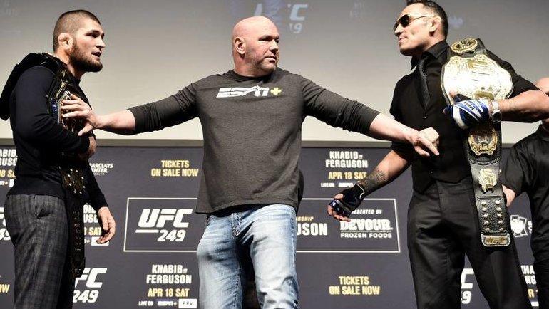 Бой Хабиба и Фергюсона - настоящее испытание для UFC
