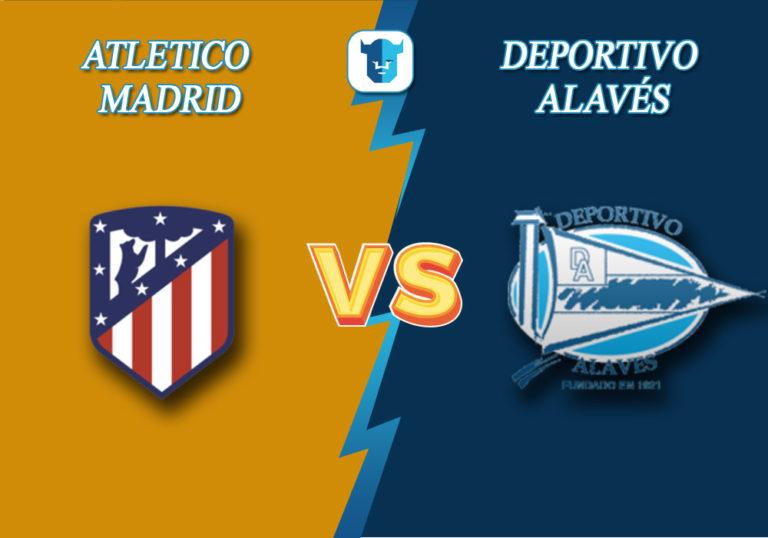 Прогноз на матч Атлетико Мадрид - Алавес
