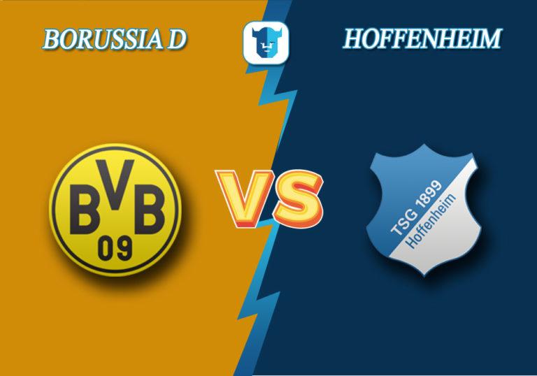 Прогноз на матч Боруссия Дортмунд - Хоффенхайм