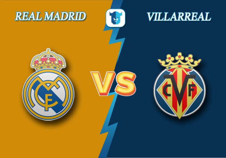Прогноз на матч Реал Мадрид - Вильярреал